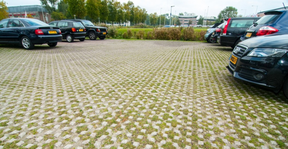Wateropgave parkeren entree lint van Treebeek