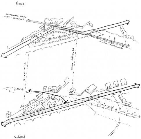 Herinrichting kruising Wijenweg-Trichterweg
